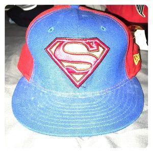 Baseball Superman DC hat